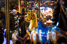Carousel With Rocking Horses O...