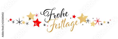 Fotografie, Obraz  Frohe Festtage