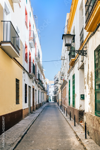Street in Triana, Seville