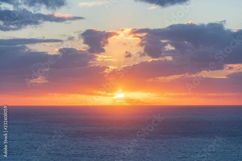 Foto op Plexiglas Zee zonsondergang Sunset in Torre del Verger, Majorca, Spain
