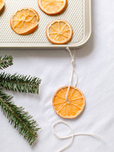 Making Dried Orange Slices For...