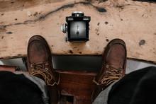 Twin Lens Reflex Camera Being ...