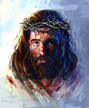 Jesus In The Crown Of Thorns, ...