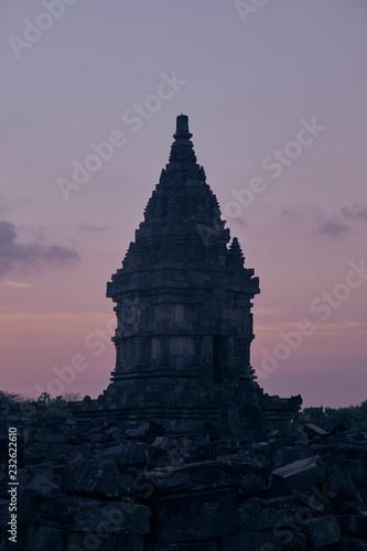 Spoed Foto op Canvas Bedehuis Buddhism Temple