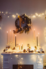 Christmas Decorations: Candles...