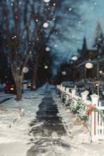 Snowy City Scenes