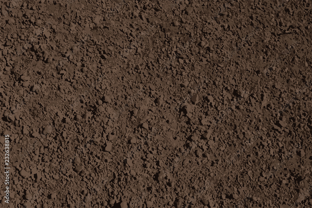 Fototapeta brown soil texture background vector