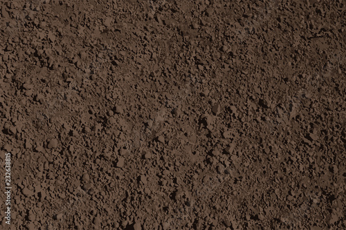 Obraz brown soil texture background vector - fototapety do salonu