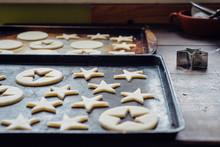 Christmas Cookie Dough In Baki...