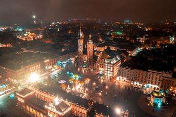Fototapeta Kraków Kraków z lotu ptaka