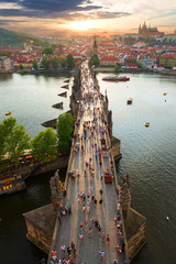 Fototapeta Mosty View on Charles Bridge