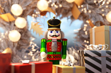 Nutcracker Decorated For Chris...