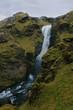 High hidden waterfall
