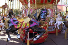 Carousel For Children With Hor...