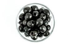 Black Olives In Glass Plates I...