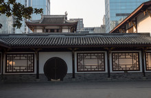 Traditional Chinese Style Building In The City