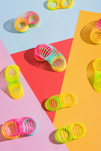Colorful Plastic Spring Toy/sl...