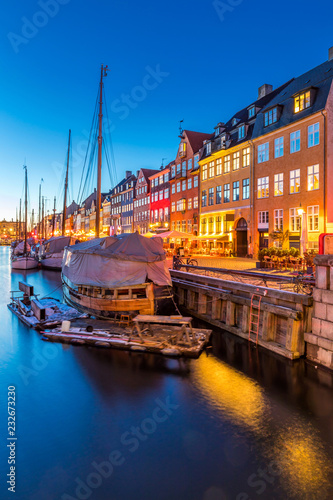 Photo Copenhagen Nyhavn Denmark
