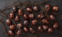 Roasted Chestnuts With Rosemary