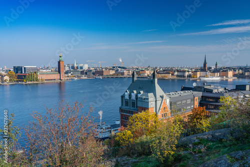Photo  Sweden, Stockholm, city beautiful view