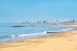 Marine landscape Mar del Plata beaches