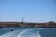 View to Valletta from the ferry, Mediterranean sea Malta
