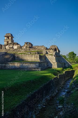 Keuken foto achterwand Oude gebouw Mayan ruins in Palenque, Chiapas, Mexico.