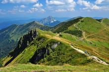 Mountain Range Of Mala Fatra, Slovakia