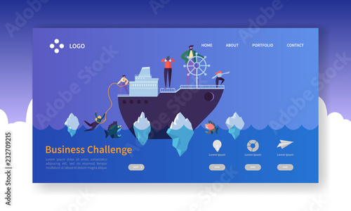 Photo  Business Challenge Landing Page
