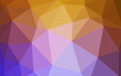 Light Pink, Yellow vector gradient triangles texture.