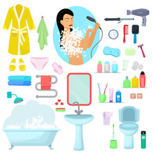 Hygiene Personal Care Vector B...