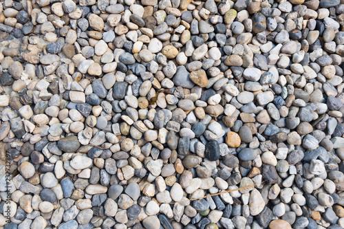 Tuinposter Stenen Stone pebbles texture or stone pebbles background