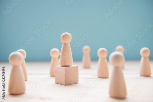 Foto Leadership concept
