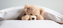 Kids Bedtime. Cute Teddy Playi...