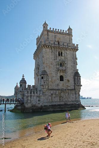 Fotografie, Obraz  Tour de Belem, Lisbonne, Portugal