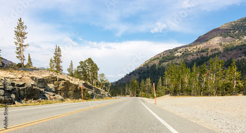 Spoed Foto op Canvas Centraal-Amerika Landen Yosemite park panoramic view, USA