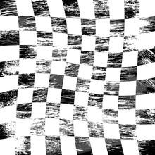 Grunge Racing Flag