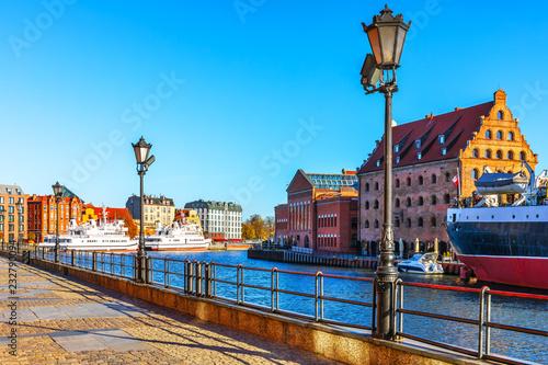 Obraz Stare Miasto w Gdańsku, Polska - fototapety do salonu