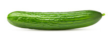 Cucumber Isolated On White Bac...