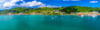 canvas print picture - St Thomas US Virgin Islands Pano