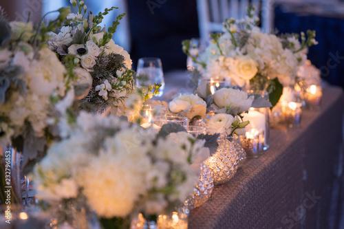 Fotografia  wedding flower florist white elegant luxury simple color