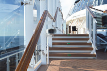 View Of The Wooden Stairs On T...