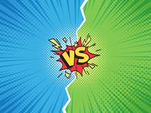 Comic Frame VS. Versus Duel Ba...