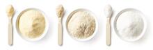 Porridge Powders Isolated On W...