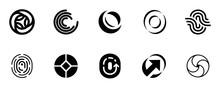 Set Of Letter O Logo. Icon Des...