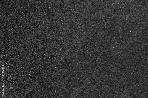 Foto Black smooth asphalt road texture background top view