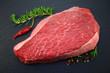 Rindfleisch Rosmarin