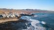 aerial view of the El Cotillo coast