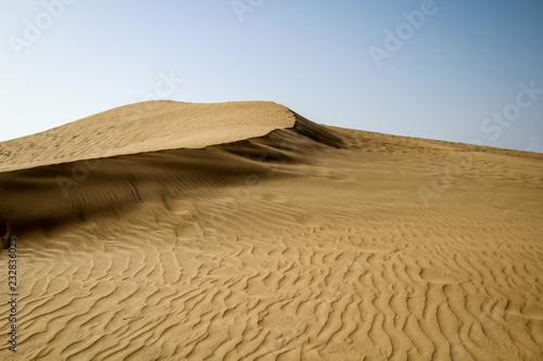 Keuken foto achterwand Zandwoestijn Wüste, Dünen
