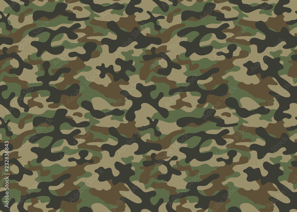 texture military camouflage repeats seamless army green hunting <span>plik: #232836843 | autor: dzmitry</span>